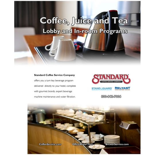 Standard Coffee Choice Hotels Ad