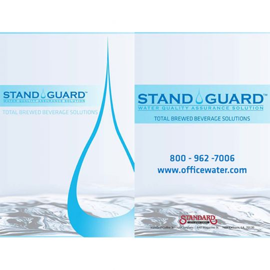 StandGuard Water Filtration Brochure